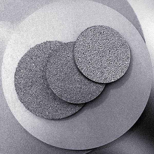 titanium powder porous sintered filter plate